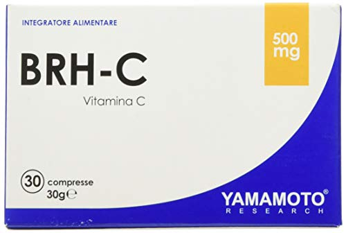 Yamamoto Research BRH-C integratore alimentare a base di Vitamina C con estratto di Rosa Canina, flavonoidi e rutina