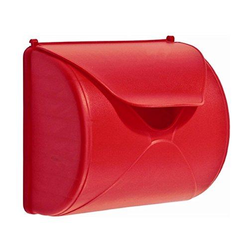 Gartenwelt Riegelsberger Boîte aux lettres rouge pour enfants - Jouet pour enfants - Pour maison de jeu, tour de jeu ou maison d'arbre