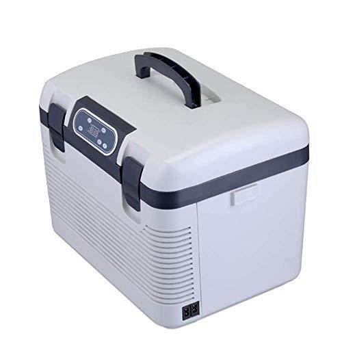 LXYZ Mini refrigerador portátil para automóvil de 19 l, Enfriador y Calentador electrónico, AC/DC para Conducir Viajes, Pesca, Uso en Exteriores y en el hogar, 17.51 * 12.2 * 13.38 Pulgadas