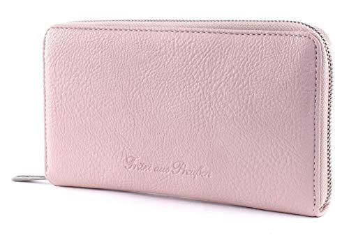 Fritzi aus Preussen Damen Elli Geldbörse, Pink (Light Rose), 3x21x12 cm