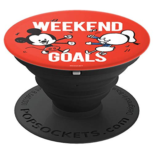 Disney Mickey Mouse and Donald Duck Weekend Goals PopSockets Grip and Stand for Phones and Tablets