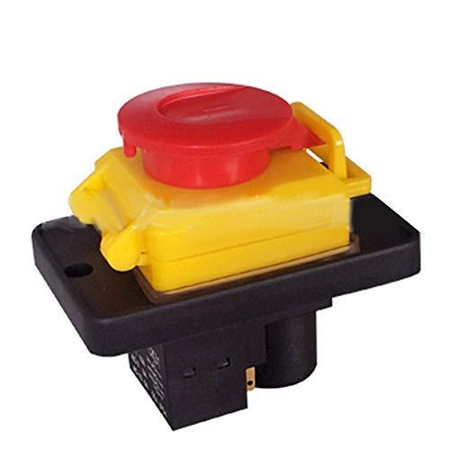 Merssavo Interruptores de botón Botón de la cortadora del Interruptor automático magnético trifásico de 400VAC