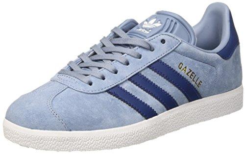 Adidas Damen Gazelle Sneakers - Blau (Tactile Blue/mystery Blue/ftwr White) , 36 2/3 EU