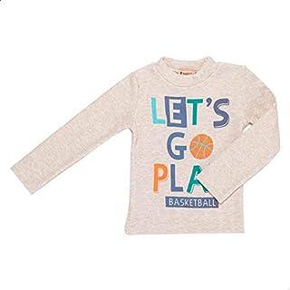 Carrot Crew-Neck Letter-Print Sweatshirt for Boys