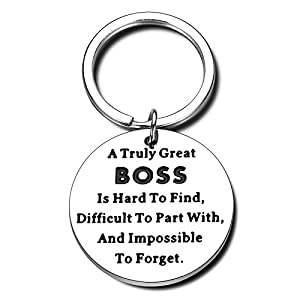 For Great Boss—Sturdy treasure for boss, supervisor, leader, business partner, manager, great coach, mentorto express your appreciation for his/her patience, experience, justice, trainings, good decisions, motivation... Suitable for Any Occasions—Wo...