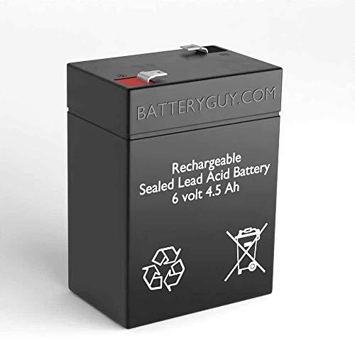 BatteryGuy Battery BG-645F1 6V 4.5AH Replacement for Vector Sport SPOT 138BY Battery