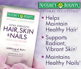 Hair Skin Nails Argan Oil Infused , 5000 mcg of Biotin , 500 Rapid Release Liquid Softgels (In 2 Bottles)