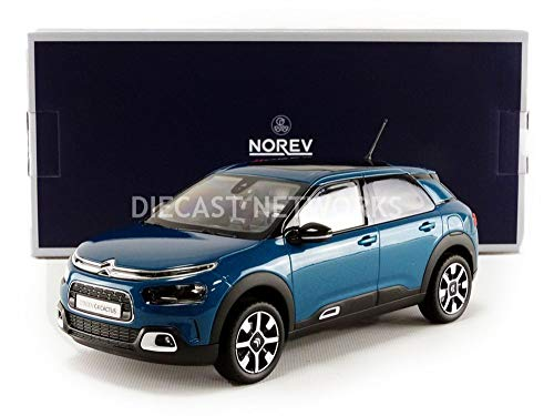 Norev NV181660 - Kit de Modelo de Cactus Citroen C4 2018, Escala 1:18, Color Azul