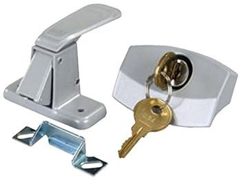 JR Products 10805 Silver Camper Door Latch