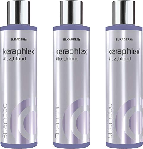 Keraphlex Ice Blond Shampoo 3x200 ml