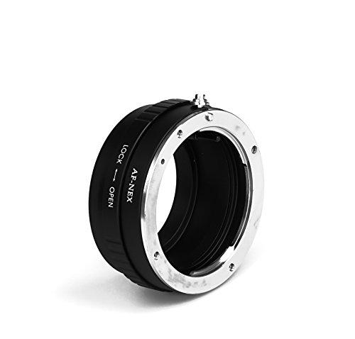 AF-NEX - Adaptador de objetivo compatible con objetivos Sony AF a cámaras...