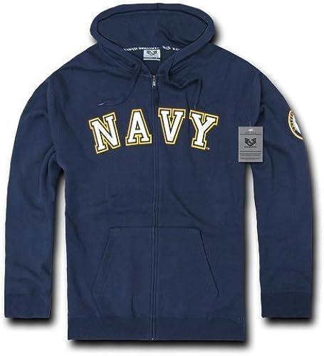 Rapiddominance US Navy Full Zip sweat à capuche, XX-grand by Rapid Dominance