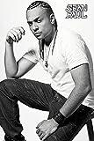 Tainsi Poster Reggae Hip-Hop-Sänger Sean Paul Schwarz und