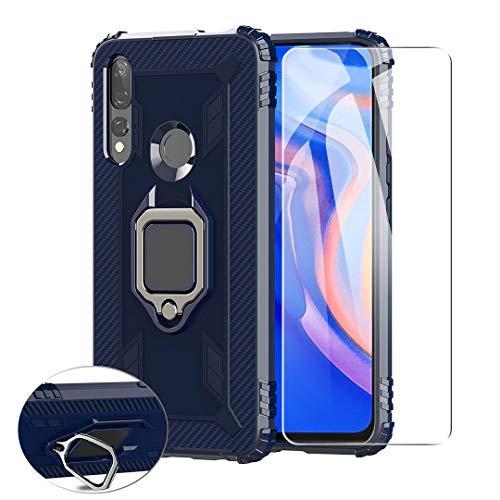 SCDMY Para Motorola Moto G 5G Plus Funda + Cristal Templado, 360°Giratorio...