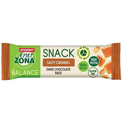 Enerzona Snack 40-30-30 Confezione da 30 Barrette Gusto Salty Caramel