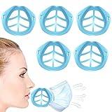 Máscara facial Marco de soporte interno Máscara de tela casera Soporte de silicona fresca para lavab...