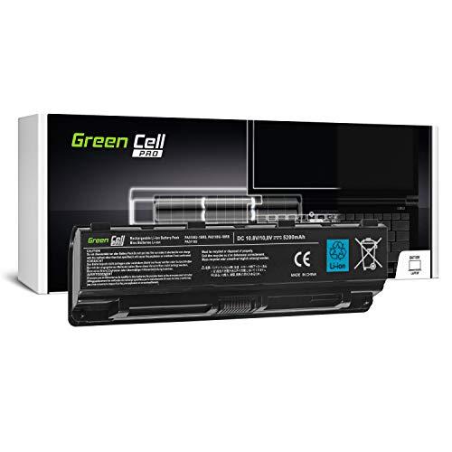 Green Cell® Pro Serie PA5109U-1BRS Laptop Akku für Toshiba Satellite C50 C50D C50t C55 C55D C55t C70 C70D C75 C75D L70 P75 C50-A C50D-A C55D-A C55-A C55D-A C70-A C70D-A (Samsung 6 Zellen 5200mAh)