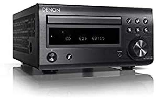 Denon RCD-M41 DAB BLK Lettore Sintonizzatore DAB, Nero