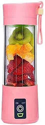 WQF Taza exprimidora USB, Mini portátil USB Recargable exprimidor de Frutas para el hogar exprimidor de Tazas máquina mezcladora Extractor de Jugo licuadora de Jugo portátil batidora de FRU