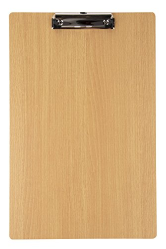 Hardboard Office Clipboard with Low Profile Clip (11 x 16.8 in)