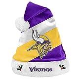 NFL Gorro de Pap Noel, Varios Equipos, Color Minnesota Vikings, tamao Talla nica