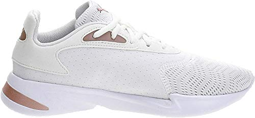 Puma Damen JaroMetal WNS Sneaker, Weiß White-Rose Gold, 40.5 EU