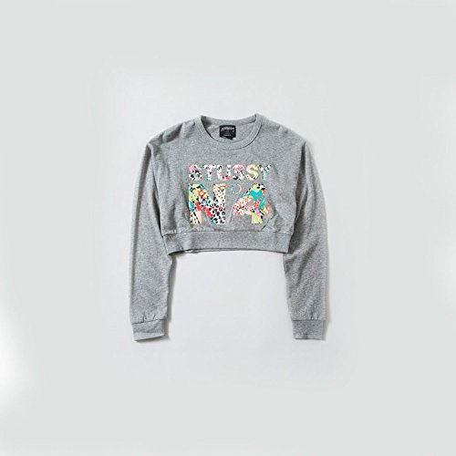 Stussy - JAMROCK NO 4 Cropped Crew Hombre