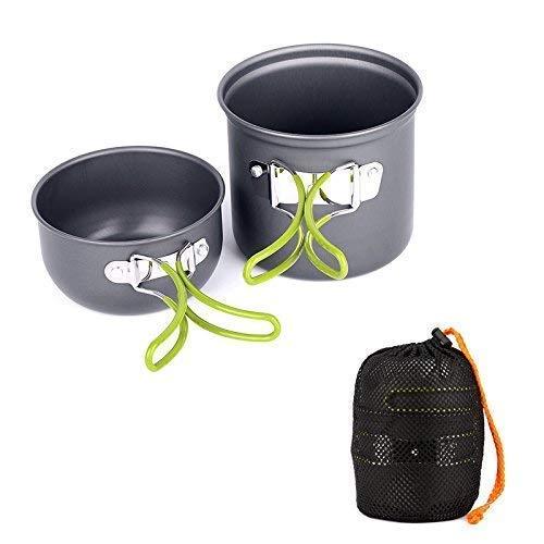 Ecent Küchen Set mit Camping Wasserkocher für Camping, Grill, Picknick im Freien