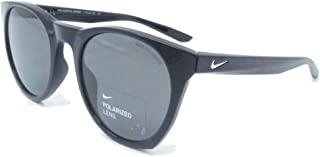 NIKE Mens Essential Horizon Black/Silver with Polarized Grey Lens Sunglasses