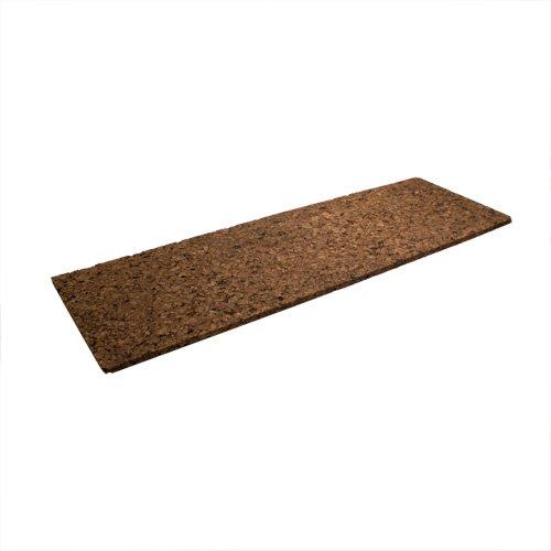 Braune Korkplatte ca. 30 x 91 x 2,5 cm stark - Zweierpack