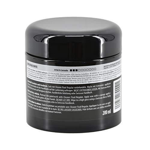 Swizöl 1015010 Onyx Universalwachs für alle Lacksysteme, 200 ml