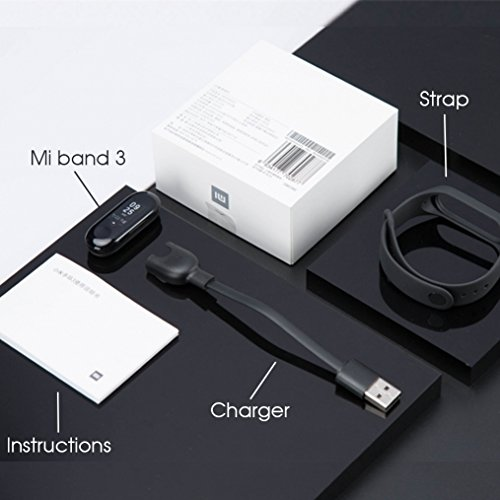 Xiaomi mi Band 3 - Braccialetto fitness con cardiofrequenzimetro