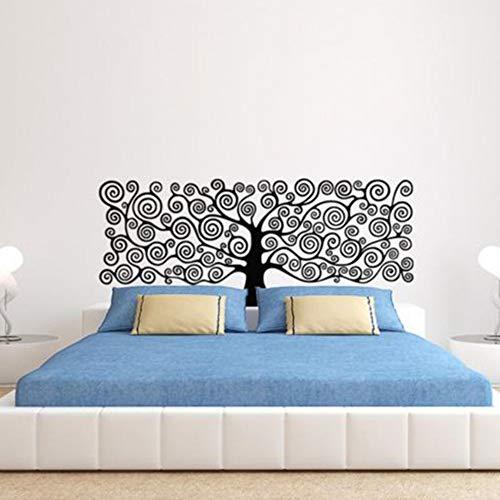 rylryl Decoración de arte Árbol de la Vida Etiqueta de La Pared Cabeceros de vinilo Cabecera DIY Decoración de la casa para el dormitorio Kids Room23x58cm