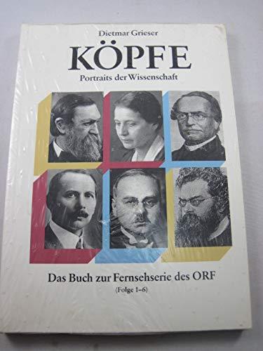 Köpfe : Portraits der Wissenschaft.