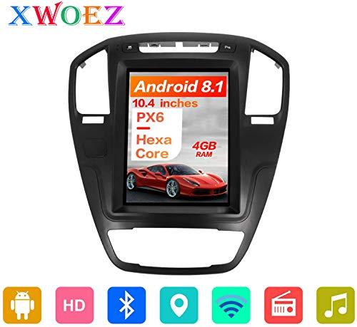 para Insignia de Opel Vauxhall Holden 2008-2013 estéreo Doble DIN Coche de navegación por satélite GPS Sistema de Navegación por Satélite Navigator CD DVD Rastreador Bluetooth Wi-Fi de Radio Auto