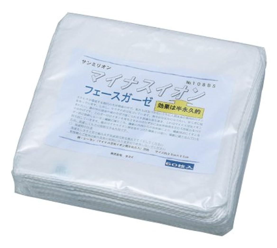 北米抑止する適応的マイナスイオンガーゼ108 BS袋付 30枚入