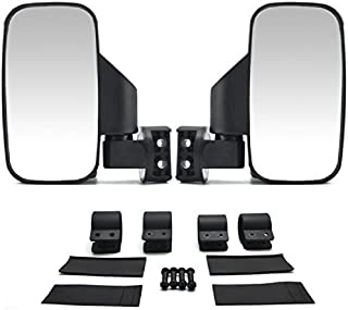 UTV Side Rear View High-Definition Convex Mirrors: Polaris Ranger Accessory Great Side by Side Mirror for RZR XP1000 900 800 Ranger (1.75