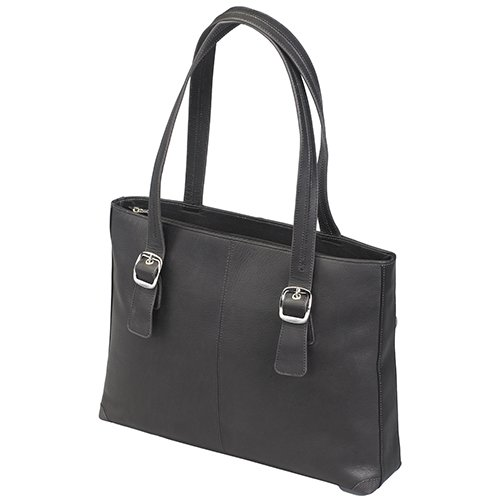 Gun Toten Mamas Gun Purse Cowhide Shoulder Portfolio, Black, One Size