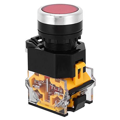 Interruptor de botón pulsador de 5 uds 22 mm, interruptor de autobloqueo...