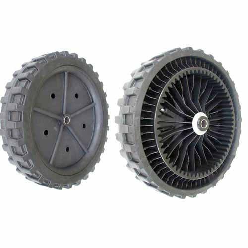 Rueda para cortacésped asmotor–Ø: Ext: 270mm, orificio: 12mm, anchura: 57,6mm. sustituye a origen: 5269, e05269