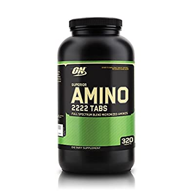 Optimum Nutrition Superior Amino 2222 Amino Acid Tablets - Tub of 320
