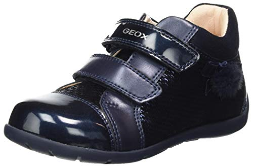 Geox B Kaytan B, First Walker Shoe Niñas, (Dk Navy), 23 EU