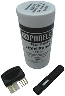 CardioChek lipid panel test strips PTS panels for P.A analyzers, Model No : 1710 - 15 ea by PTS