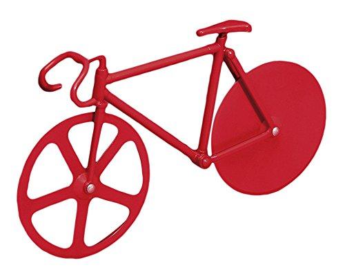 DOIY Design dyfixiere Pizzaschneider Fixie Pure Stahllegierung rot 22,5x 4x 13cm