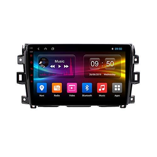 TypeBuilt Android Autoradio 9' Pantalla Tactil para Coche HD Radio De Coche Bluetooth SWC per Nissan Navara D40 2015-2017 Coche Audio FM/Am/RDS Radio Video Player Bluetooth Radio Pantalla,Px5