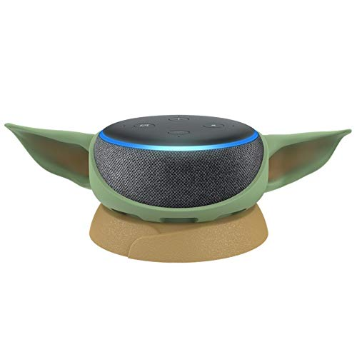 (48% OFF Deal) Echo Dot (3rd Gen) W/ Baby Yoda Stand Prime Day Special $38.94