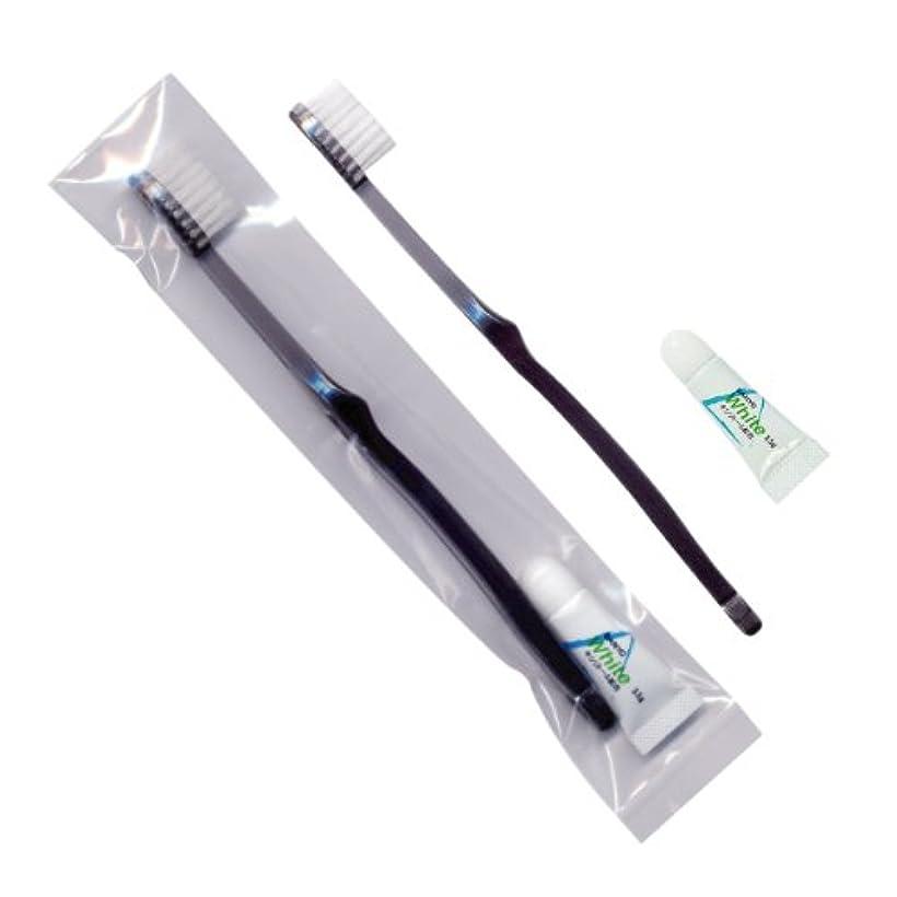 エーカー擁するアクロバットホテル業務用歯ブラシ28穴(スモーク)3.5gチューブ OP袋Sタイプ 500本