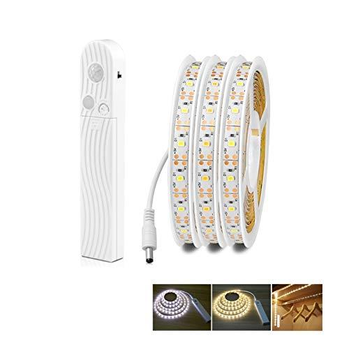 HXXB Luz USB 1M 2M 3M Movimiento Impermeable Sensor de luz de la Noche Dormitorio Wireless Sensor luz del gabinete del USB del Escritorio de la lámpara de luz de Fondo de TV Luz de Noche