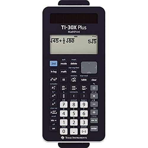 Texas Instruments TI-30XPLMP Plus MathPrint, schwarz, taschenrechner