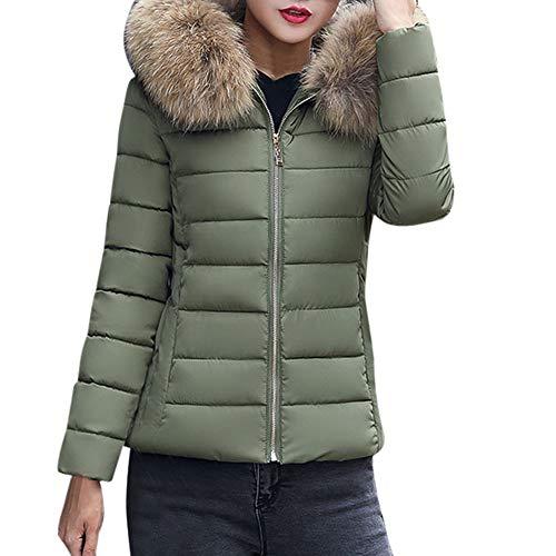 Zottom Casual wasserdichte Sonnencreme Outdoor-Sportjacke sowie samt Dicke warme Jacke Mantel Jacke(A-Armeegrün,XXX-Large)